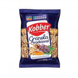 Granola Tradicional Mel, Passas e Castanhas (500g) - Kobber