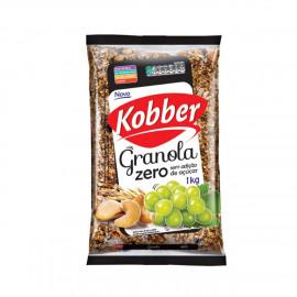 Granola Passas e Castanhas Zero (1kg) - Kobber