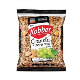 Granola Passas e Castanhas Zero (500g) - Kobber