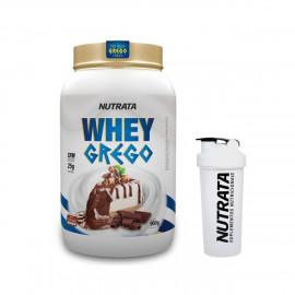 Whey Grego 900g + Coqueteleira Grátis - Nutrata