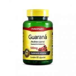 Guaraná 60 Cápsulas - Maxinutri