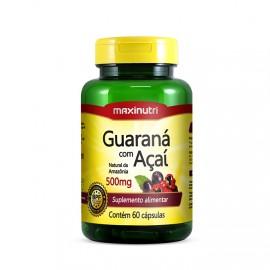 Guaraná com Açaí 60 Cápsulas - MaxiNutri
