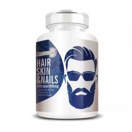 Homem Hair Skin & Nails Colágeno - 60 Cápsulas - Flora Nativa