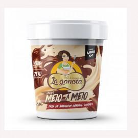 Pasta de Amendoim Integral Meio a Meio 1.005kg - La Ganexa
