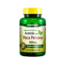Acerola com Maca Peruana 60 Cápsulas - Maxinutri