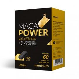 Maca Power 60 Cápsulas 500mg - Maxinutri