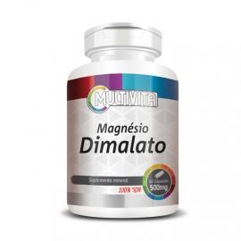 Magnésio Dimalato 60 Cápsulas - Flora Nativa