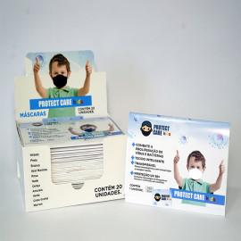 Máscara Protect Care Infantil Branca