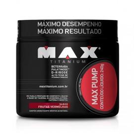 Max Pump 240g - Max Titanium