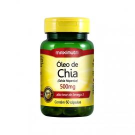 Óleo de Chia 60 Cápsulas - Maxinutri