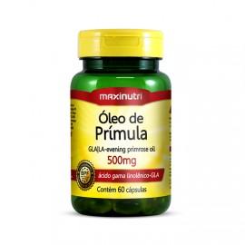 Óleo de Prímula  500mg  60 Cápsulas – Maxinutri
