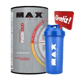 Titanium Ultimate Pack Duo 44 Paks - Max Titanium - COQUETELEIRA GRATIS
