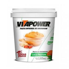 Pasta de Amendoim Integral Coco 1,005kg - Vitapower