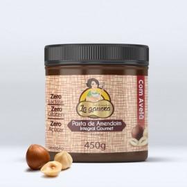 Pasta de Amendoim Integral Avelã 1.005kg - La Ganexa
