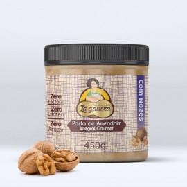 Pasta de Amendoim Integral com Nozes 1.005kg - La Ganexa