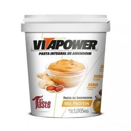 Pasta de Amendoim Integral Mel 1,005kg - Vitapower