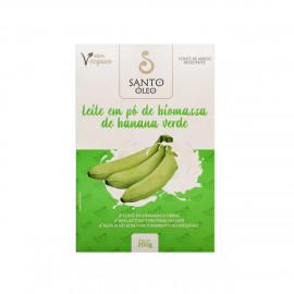 Leite em Pó de Biomassa de Banana Verde (200g) - Santo Óleo