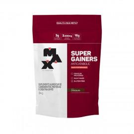 Super Gainers 3kg Refil Morango - Max Titanium