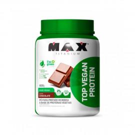 Top Vegan Protein Café c/ Leite (600g) - Max Titanium