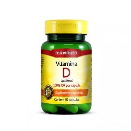 Vitamina D 60 Cápsulas - Maxinutri