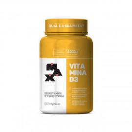 Vitamina D3 (60 Cápsulas) - Max Titanium