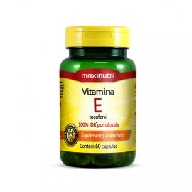 Vitamina E 10mg 60 Cápsulas - Maxinutri