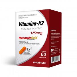 Vitamina K2 (125mg) 60 Cápsulas - Maxinutri