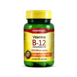 Vitamina B12 60 Cápsulas - Maxinutri