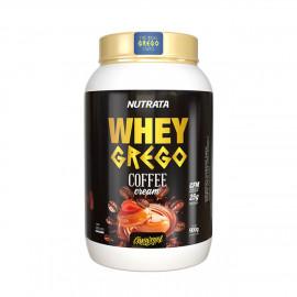 Whey Grego Coffe Cream 900g - Nutrata