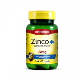Zinco+ 28mg  60 Cápsulas - Maxinutri